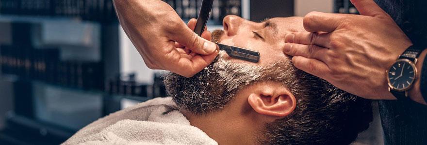 Rasage de barbe